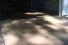 sinking concrete